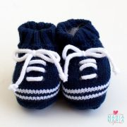 menino sapatinhos sapatinho de trico brasao azul rn - Página 2 ... 416c7ac6f76