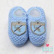 produtos sapatinho de trico brasao coroa azul rn - Busca na Maria ... 1bc46a6ee4b