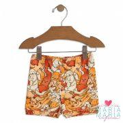 Shorts Suedine Cachorro