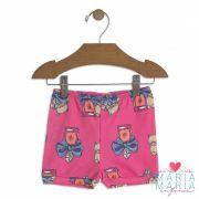 Shorts Suedine Gatinho Pink