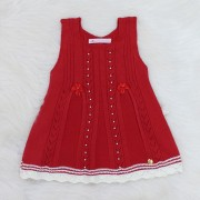 Vestido Pérola Vermelho
