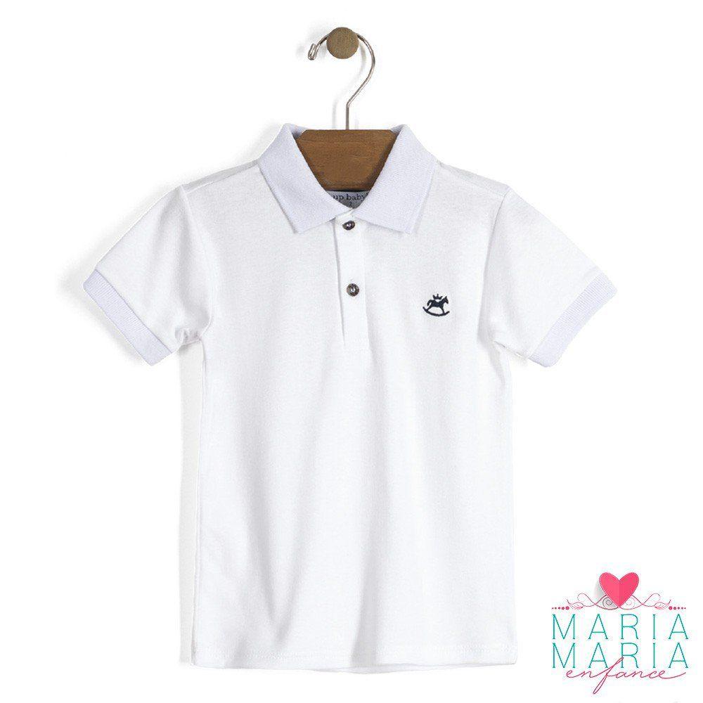 Camisa Manga Curta Branco