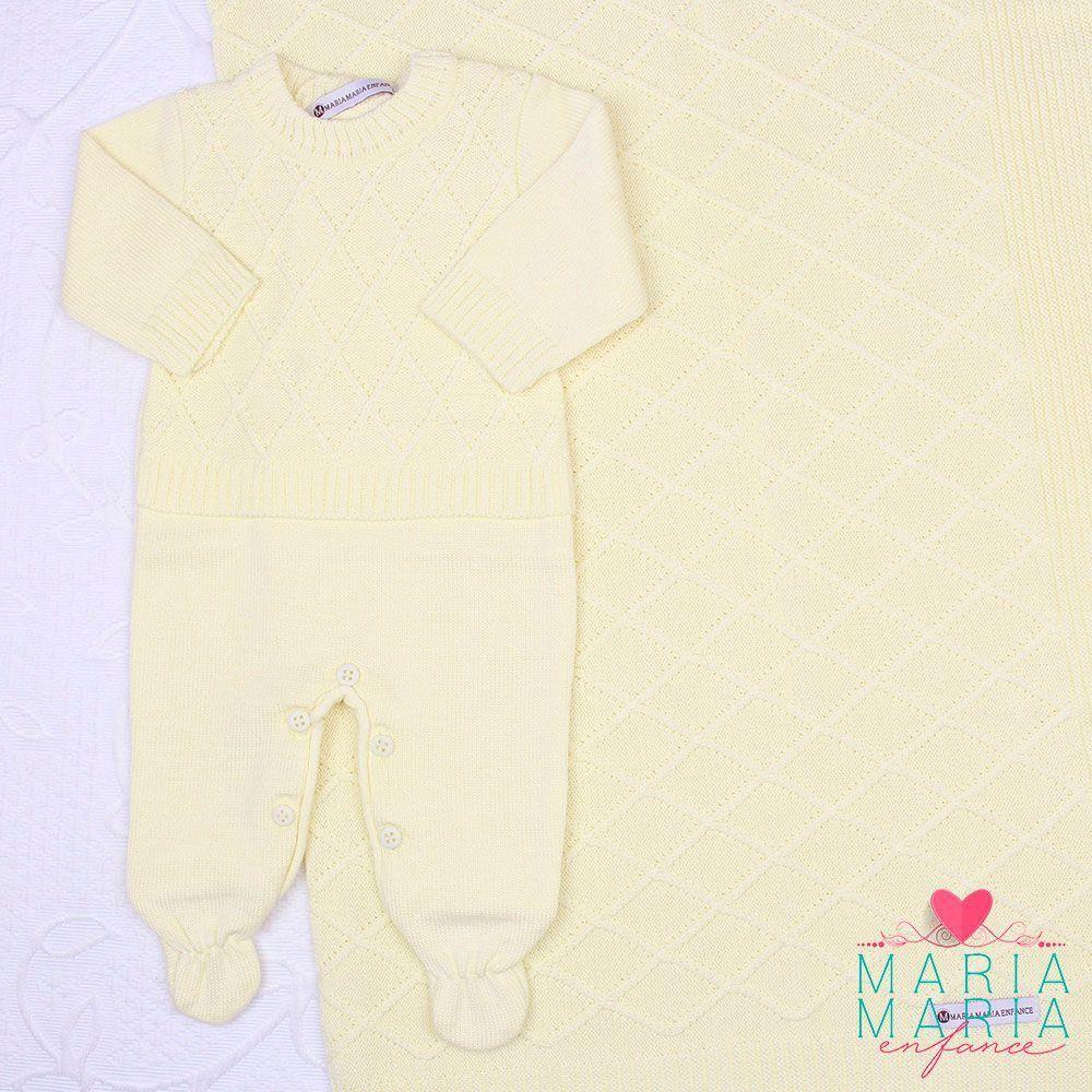 Saída de Maternidade Aram Amarelo