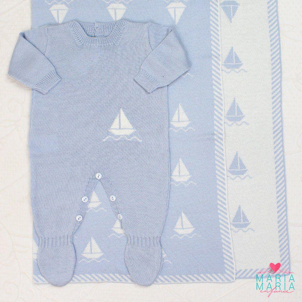 Saída de Maternidade Barco Azul