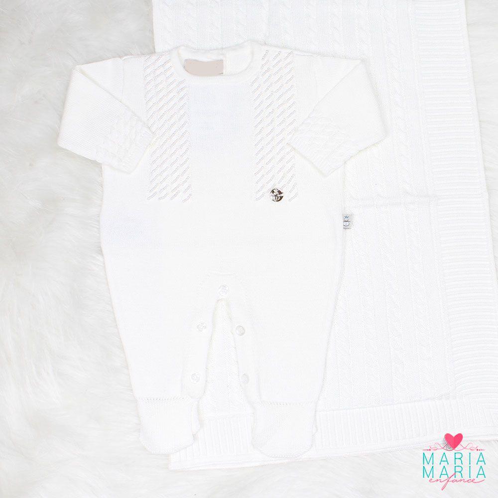 Saída de Maternidade Encanto Branco