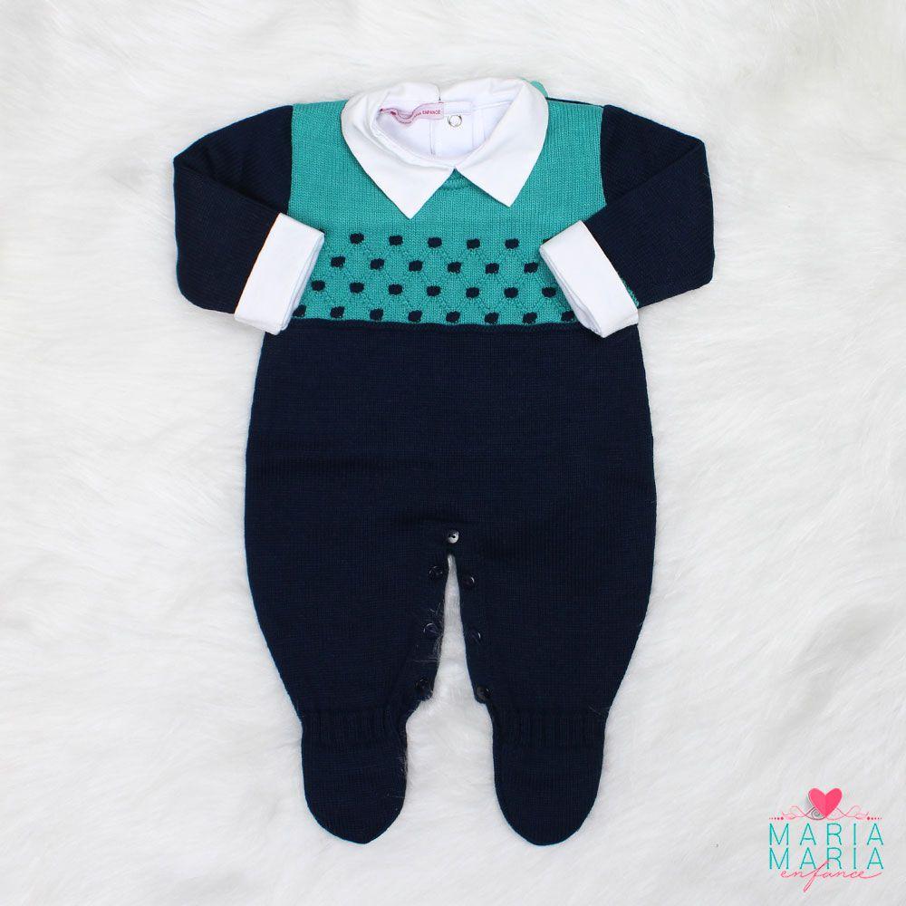 Saída de Maternidade Junior Marinho e Verde