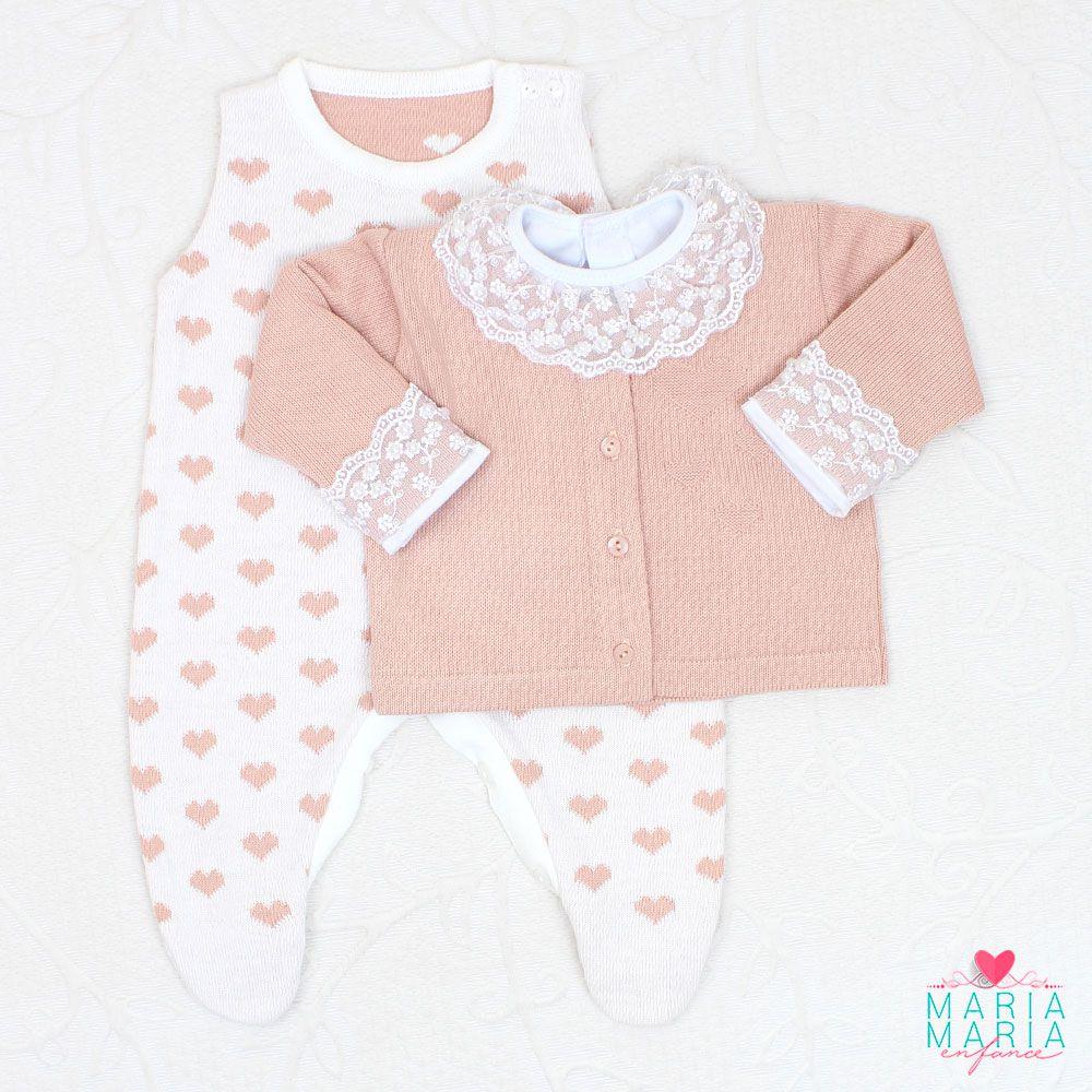 Saída de Maternidade Love Rosê