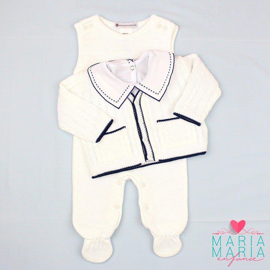 Saída de Maternidade Tenista Branco