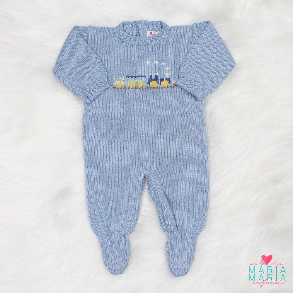 Saída de Maternidade Trenzinho Azul