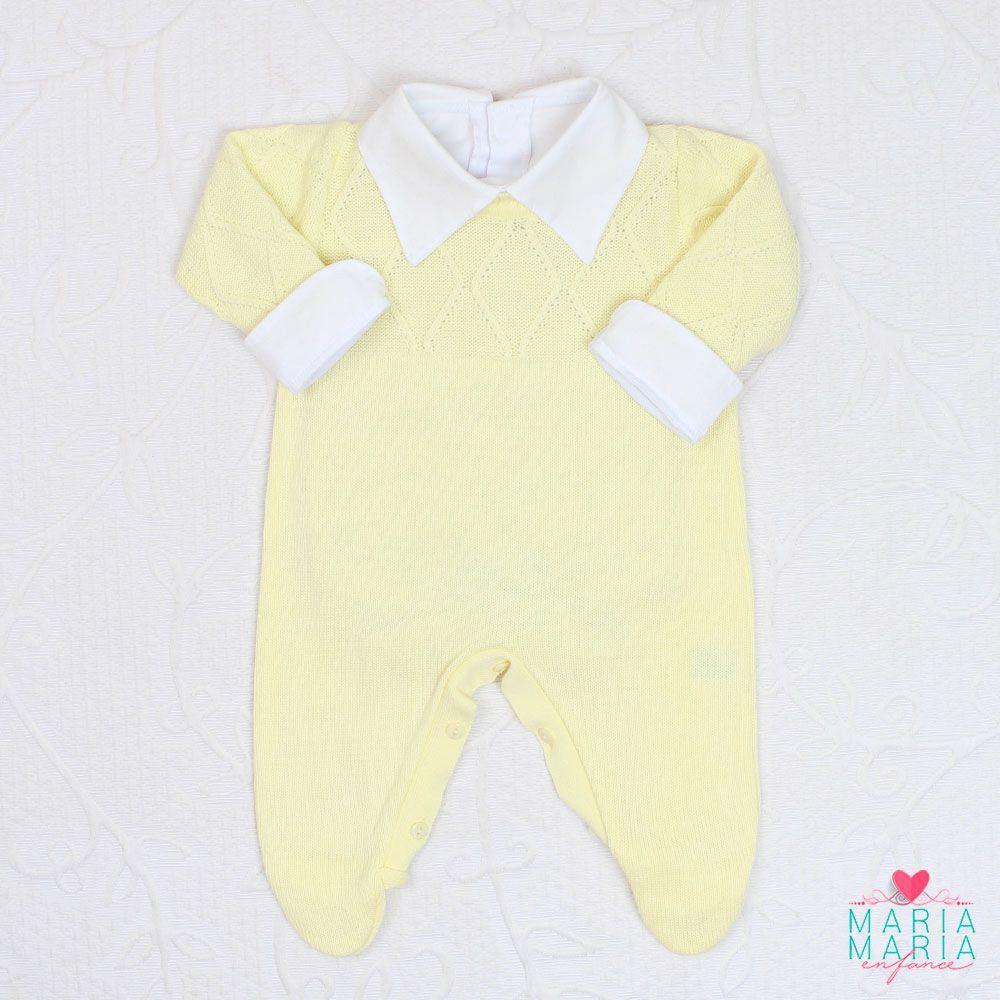 Saída de Maternidade Viena Amarelo
