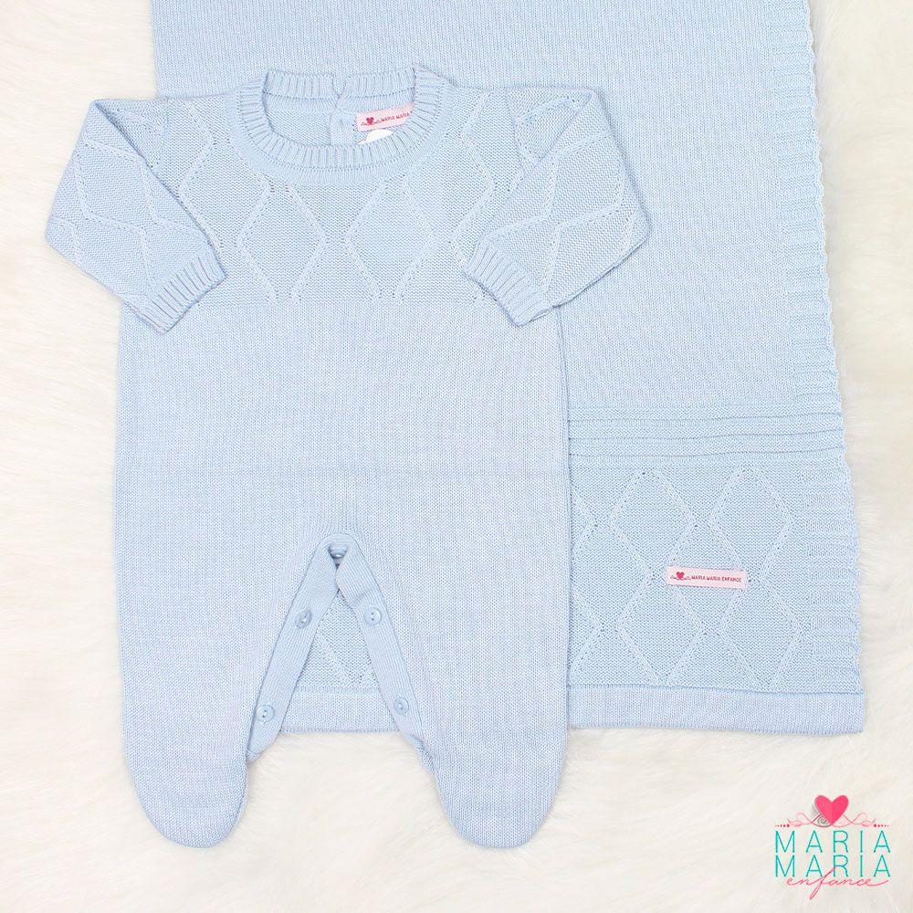 Saída de Maternidade Viena Azul