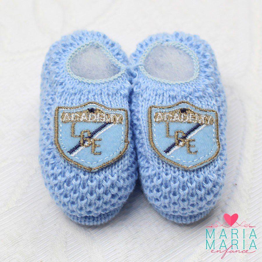 Sapatinho de Tricô Academy Azul - Maria Maria Enfance - Saídas de ... f44e1bd8549
