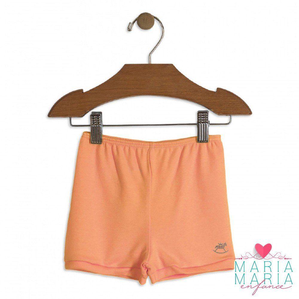 Shorts Suedine Coral