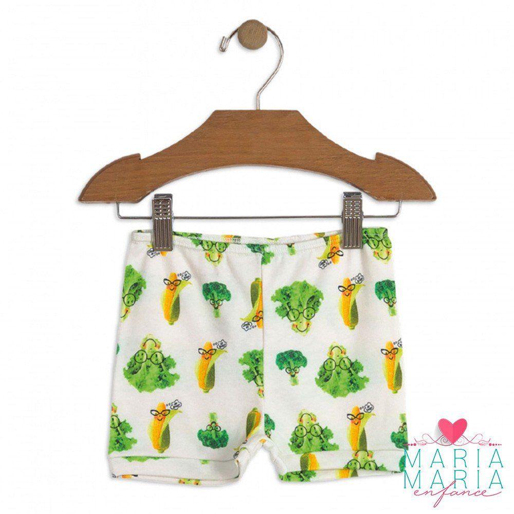 Shorts Suedine Legumes