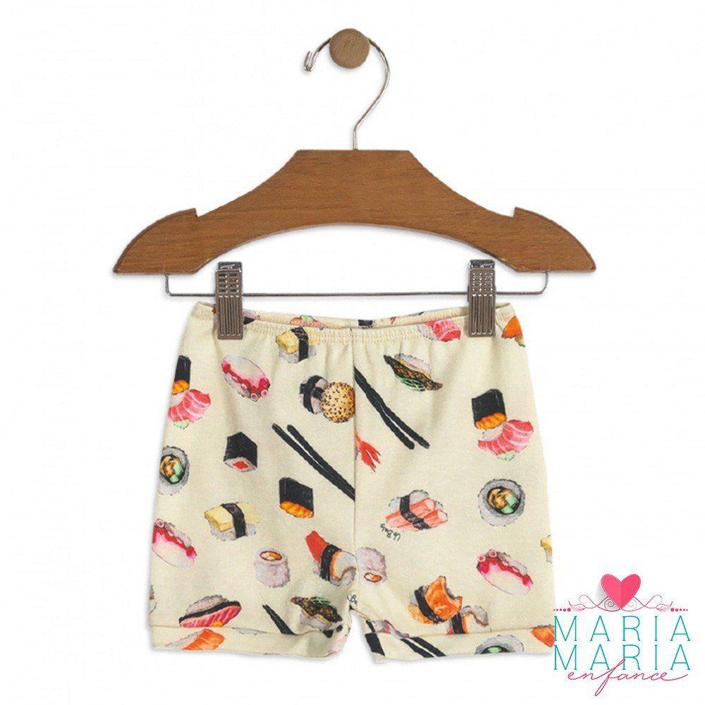 Shorts Suedine Sushi