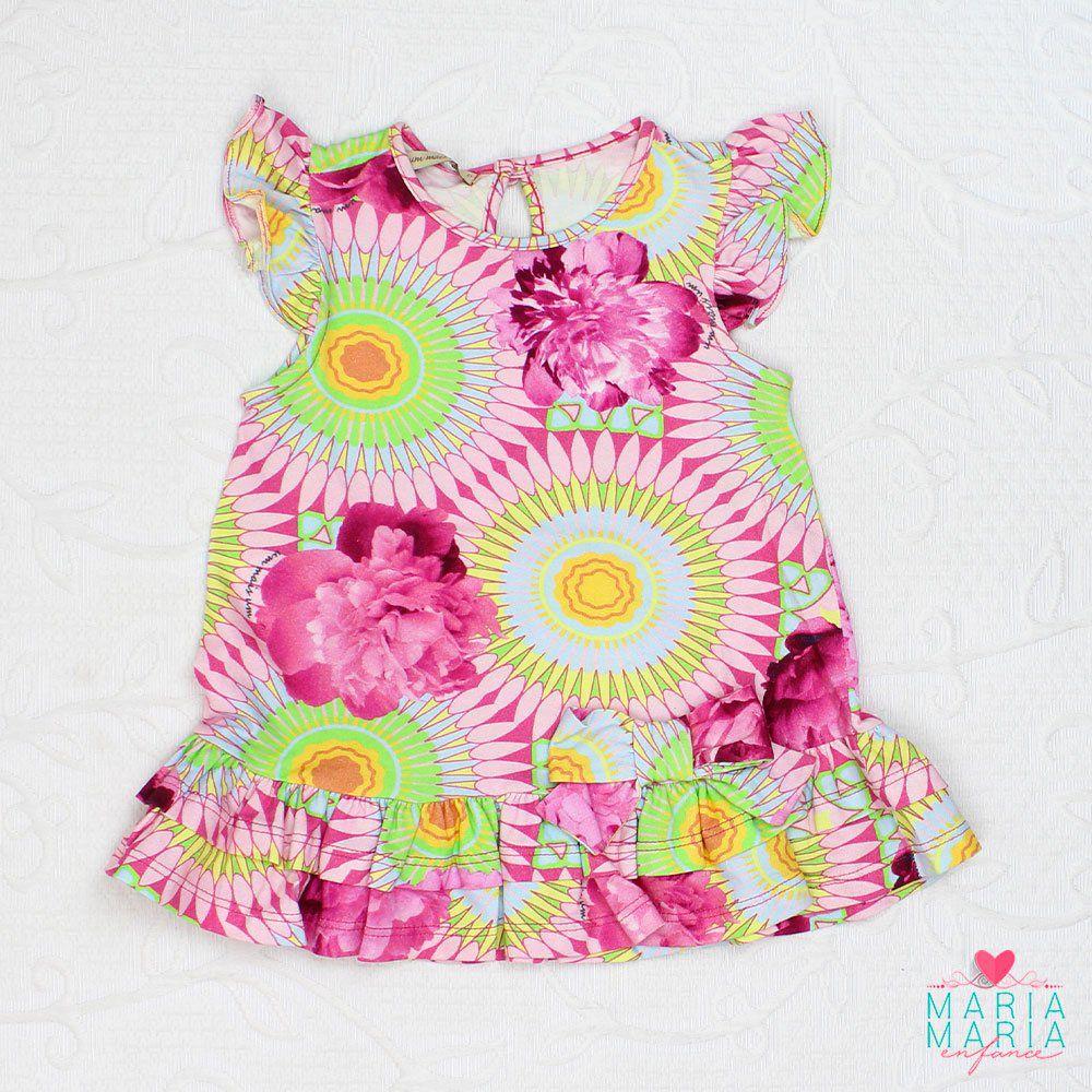 Vestido 1+1 Floral Pink