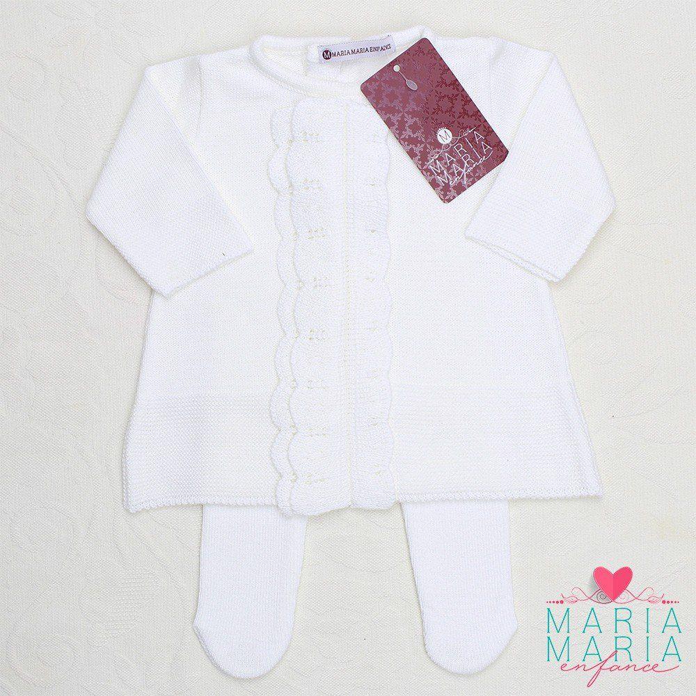 Vestido Babado Branco