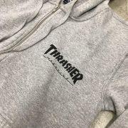 Moletom Thrasher C/Ziper
