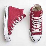 Tênis Converse Chuck Taylor All Star Bordô/Branco
