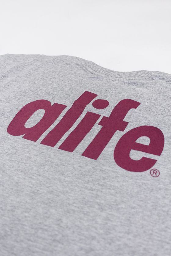 "CAMISETA ALIFE ""ALIFE NEW YORK"" CINZA"