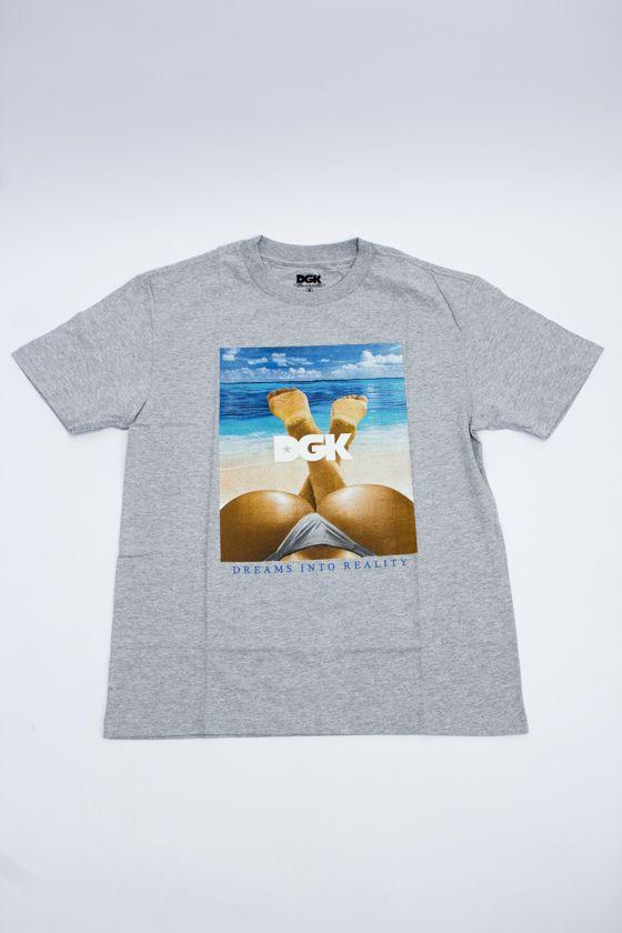 "Camiseta DGK ""Day Dream"" Cinza"