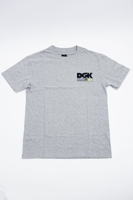 "CAMISETA DGK ""HIGH VIBES"" CINZA"