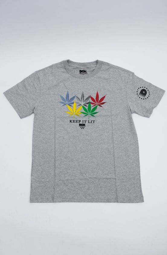 "CAMISETA DGK ""INTERNATIONAL"" CINZA"