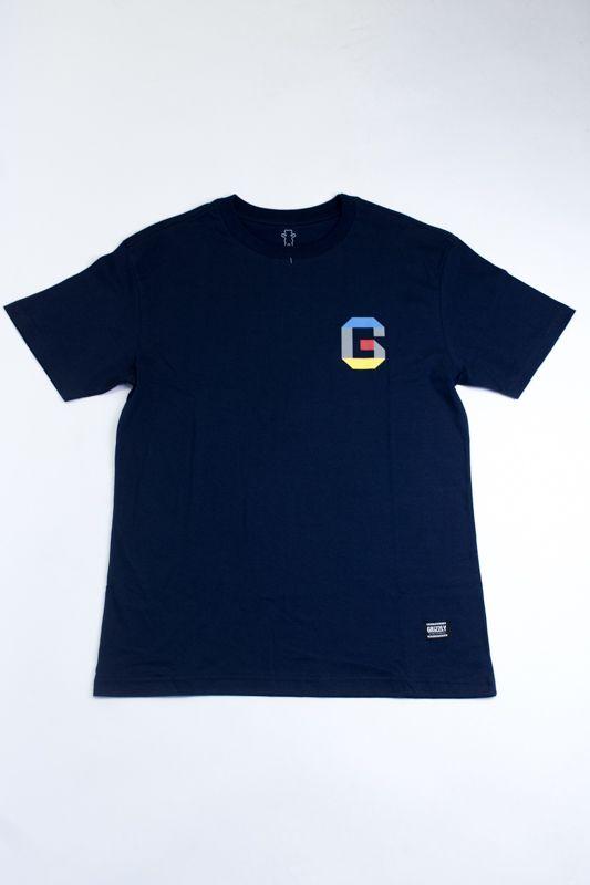 "Camiseta Grizzly ""Coliseum 3D"" Azul"