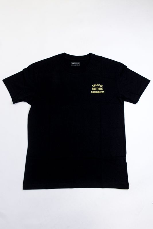 "CAMISETA THE HUNDREDS ""CYCLE"" PRETA"