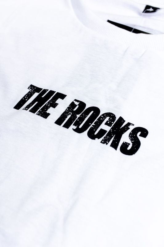 "CAMISETA THE ROCKS ""STATUE"" BRANCA"