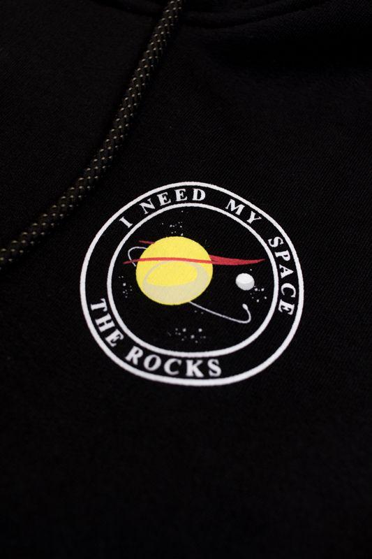 "MOLETOM THE ROCKS ""I NEED MY SPACE"" PRETO"