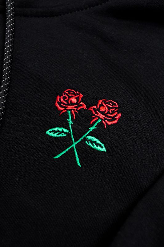 "MOLETOM THE ROCKS ""ROSE"" PRETO"