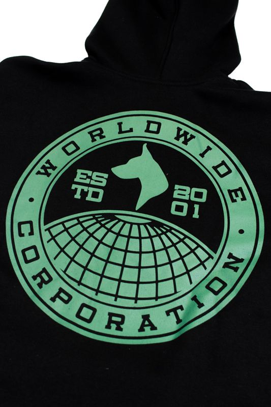 "MOLETOM THE ROCKS ""WORLDWIDE"" PRETO"