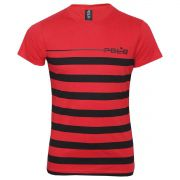 CAMISETA CARECA POLO RG518 COM ESTAMPA FRONTAL E COSTAS