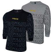 Kit Camiseta Manga Longa Polo RG518