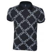 Camisa Polo RG518 Estampada