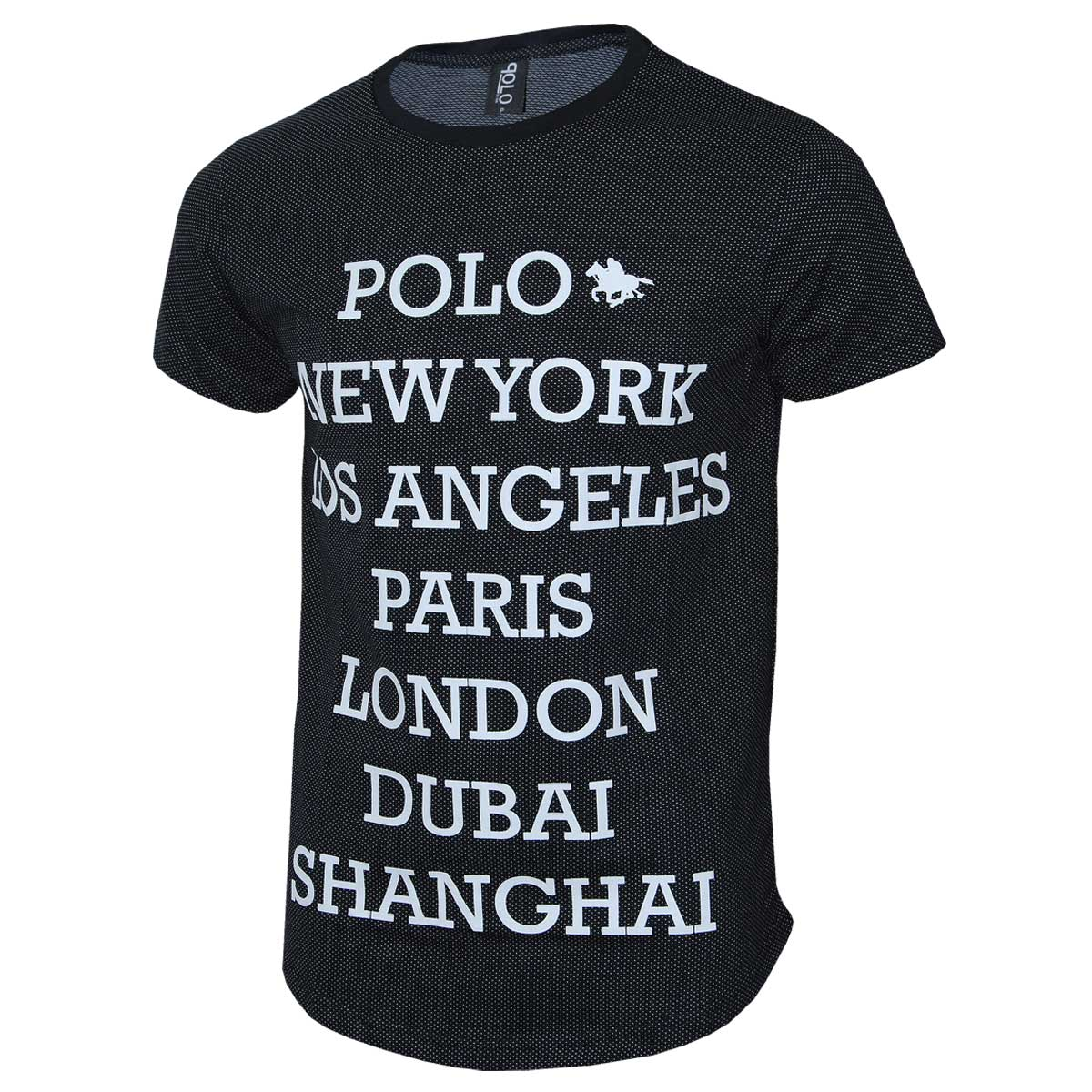 Kit Camisetas Masculinas Swag Blusa Slim com 10 unidades