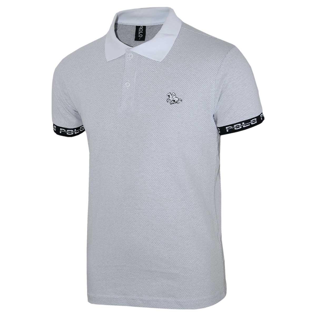 Camisa Polo com Punho Personalizado e Logo em Tape