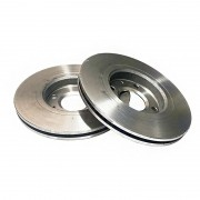 Disco freio dianteiro ventilado fremax toyota hilux 2.5 / 3.0 4x4 05 > 15 hilux 2.5 / 3.0 4x2 05 > 11