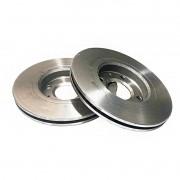 Disco freio traseiro ventilado centric chrysler grand cherokee 06 > ( 6.1 srt8 )