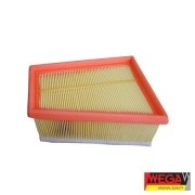 Filtro ar wega renault, nissan clio 09/98 > ( motor 1.6 16v k4m ) clio 01/03 > ( motor flex 1.6 16v k4m ) duster 2011 > ( motor 1.6 16v k4m ) duster 2.0 2011 > kangoo 1.6 16v k4m-750/753 07/01 >06