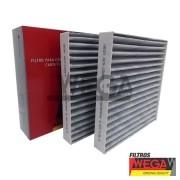 Filtro cabine wega bmw x3 / x4 2.0 / 2.8 / 3.5 f25 / f26 10 > 16