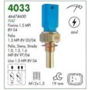 Interruptor temperatura painel mte fiat palio 1.0, 1.5 98 >