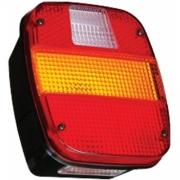 Lanterna traseira c/ vigia (marmita) sinalsul ford, cargo, vw caminhoes