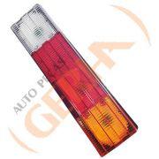 Lanterna traseira com vigia iam tricolor frisada mb mercedes 88 >