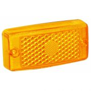 Lente lanterna amarela gf mb 709/912 ambar lente lanterna rn4018