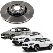 Par de Discos Freio Dianteiros Ventilado BMW 225 2.0T BMW X1 2.0 BMW X2 2015 2016 2017 2018 2019