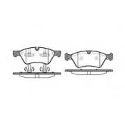 Pastilha freio dianteira asumi mercedes e500 4 matic 06 > s500 4 matic 05 > r63 amg / r500 5.0 06 >