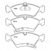 Pastilha freio dianteira cobreq gm meriva 1.4 / 1.8 02 > 10 , zafira 2.0 8v 02 > 10