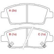 Pastilha freio dianteira cobreq hyundai hb20 1.0 12v 12 >